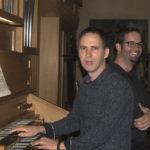 Pierre Yves Fleury , orgue et Enguerand Ecarnot, Percussion